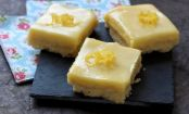Lemon delight: How to make white chocolate lemon bars with zing