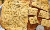Homemade herbed focaccia that will make you say no to Paleo