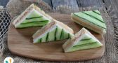 Inside-Out Cucumber-Salmon Tea Sandwiches