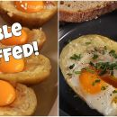 RECIPE: Double Stuffed Potato Egg Boats