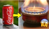 Kitchen HACK: How To Turn A Coke Can Into A Stove