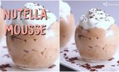 RECIPE: Nutella Mousse