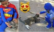 This Amazing 5-Year-Old Is a Superhero for Homeless Cats