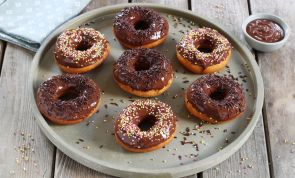 Ridiculously Easy Homemade Chocolate-Glazed Donuts