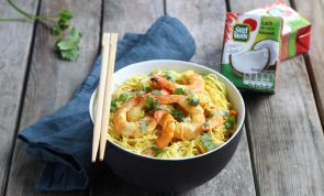 Easy Weeknight Coconut Curry Shrimp Bowls