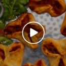 VIDEO: Tasty Beef Tomato Pockets