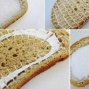 Embroidered BREAD: the next food craze?