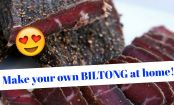 BILTONG: It's the South African answer to beef jerky and it's incredible. Here's how to make your own