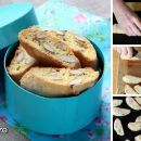 Recipe for gourmet Italian almond biscotti you can dip like they do in Italy