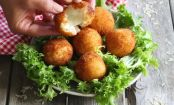 Addicting Recipe: Deep-Fried Mozzarella Risotto Balls