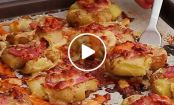 VIDEO: Smashed Jackson Pollock Potatoes