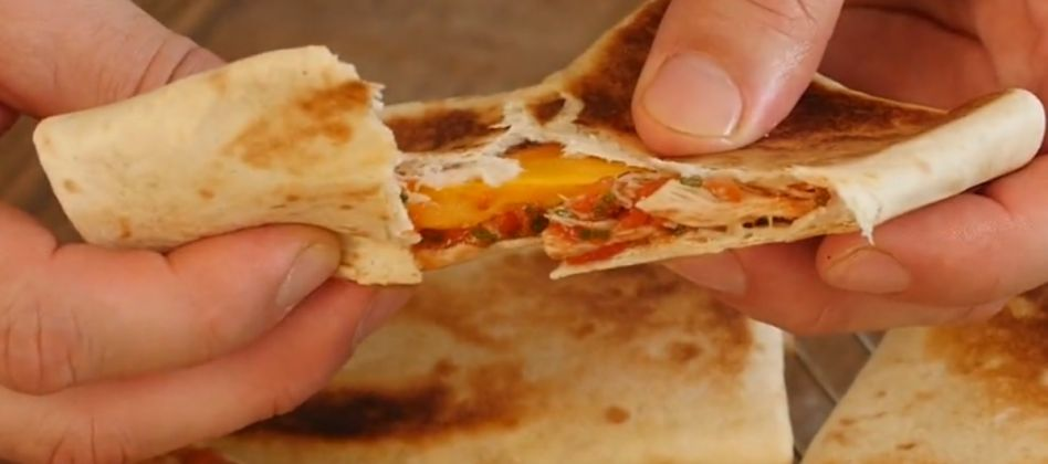 VIDEO: Chicken Quesadillas