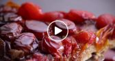 VIDEO: Tarte Tatin with Cherry Tomatoes