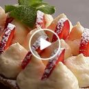 VIDEO: French Strawberry Mille Feuille