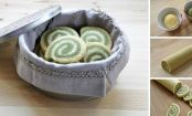 How to make Matcha pinwheel cookies in 6 easy steps