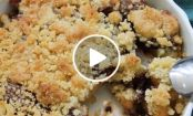 VIDEO: Pear Crumble with Nutella