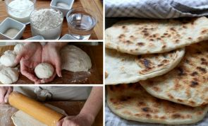Homemade naan in 10 easy steps