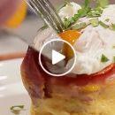 VIDEO: Crispy Ham and Egg Cups