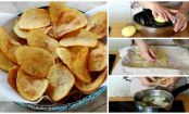 The secret to making the crispiest homemade potato chips