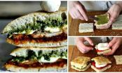 3 ways to mini foccacia sandwich bliss