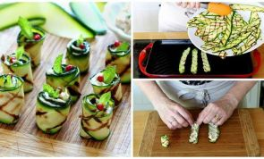 These grilled zucchini rolls will make summer entertaining a breeze