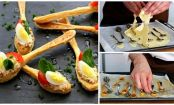 Make a stir at your next party with these puff-pastry spoons