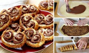 These praline-crusted Nutella palmiers are to-drool-for