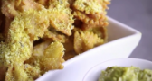 VIDEO: Crispy Fried Pasta Dippers