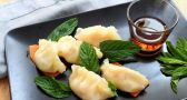 Steam your way to authentic shrimp pot stickers