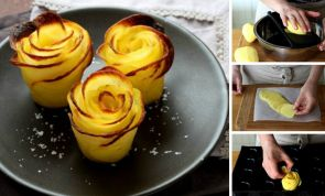 How to make beautiful potato roses