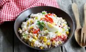 Easy-Peasy Rice Salad