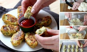 How to make Parmesan cauliflower tater tots