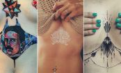 THE UNDERBOOB: Why we love this hot tattoo trend