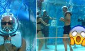 PHOTOS: Take a dip in the world's first UNDERWATER oxygen bar!