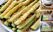 How to make healthy Parmesan and lemon zucchini fries