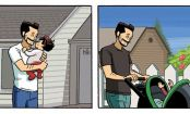 This Comic About A Dad Watching His Daughter Grow Up Will Give You All The Feels