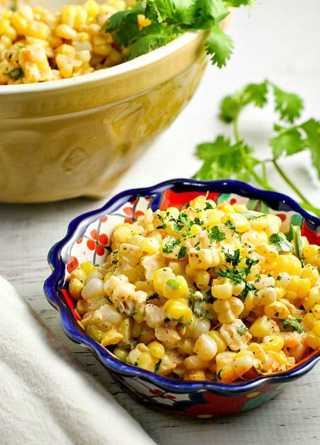 Mexican corn salad - © A dish of daily life
