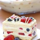 Celebrate Summer with This Delicious No-Bake Berry Cake