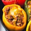 These Ground Turkey STUFFED PEPPERS Really Hit the Spot!