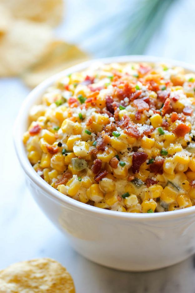 Corn and Jalapeño Dip - © Damn Delicious