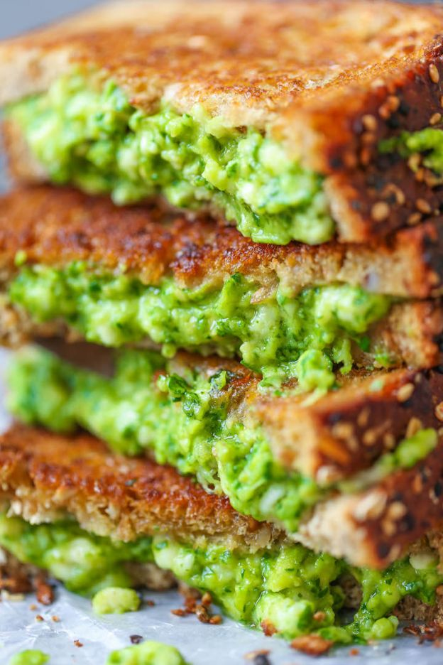 Avocado Grilled Cheese - © Damn Delicious