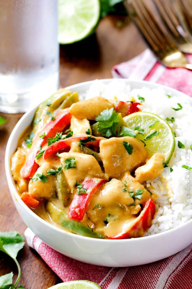 CHICKEN IN COCONUT MANGO VERDE SAUCE - © CARLSBAD CRAVINGS