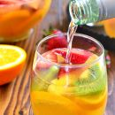 This Tropical Sangria Will Make You Feel Like You're on Vacation Already