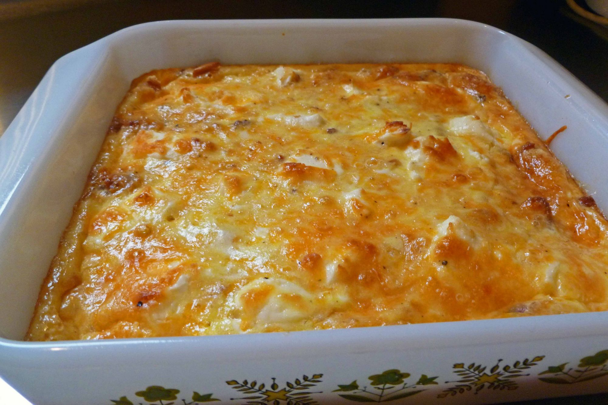 cheese strata recipe 455 - Strata Egg Dish