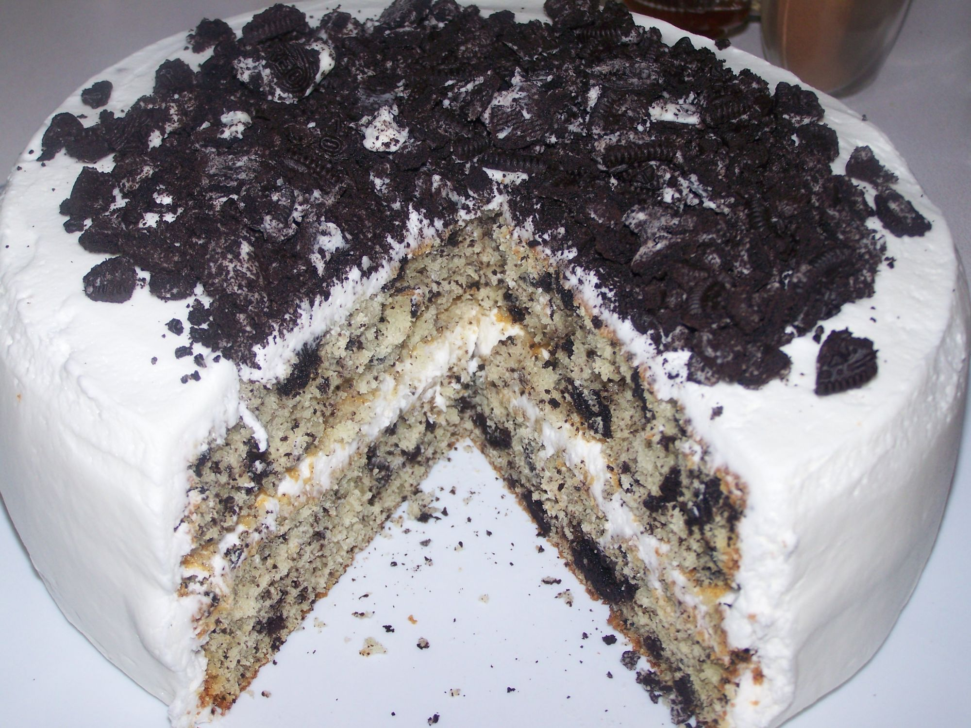 Cookies N Cream Ice Cream Cake Recipe