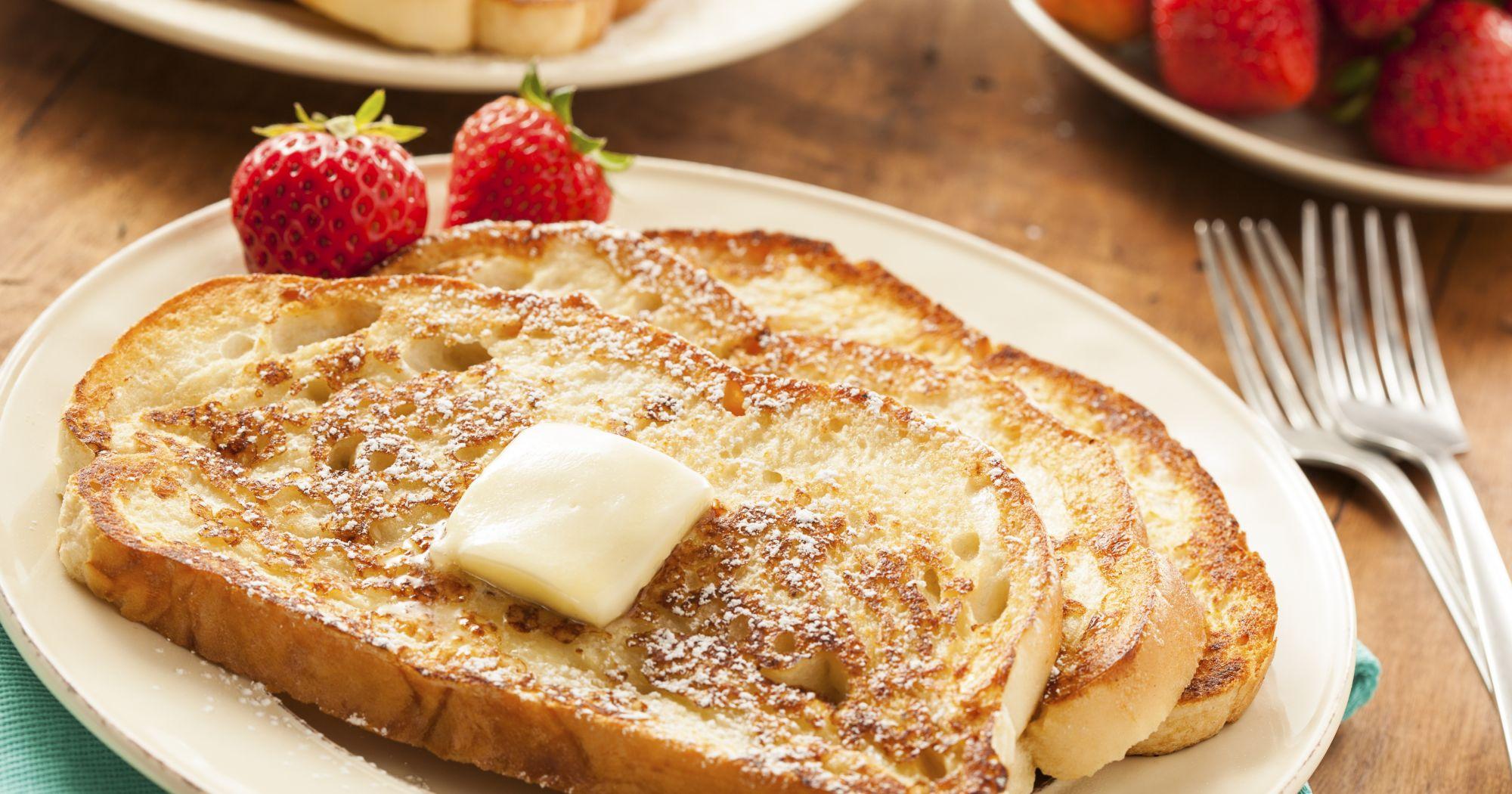 Французские тосты без молока
