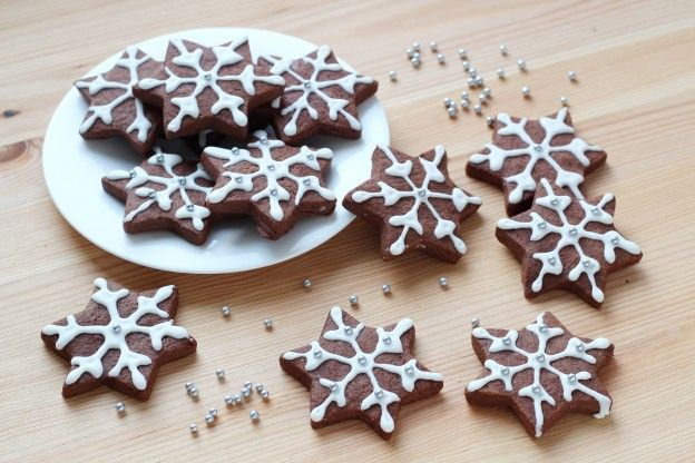 decorated shortbread cookies.htm these chocolate snowflake shortbread cookies prove that desserts  chocolate snowflake shortbread cookies
