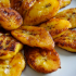 Oven-baked sweet plaintains