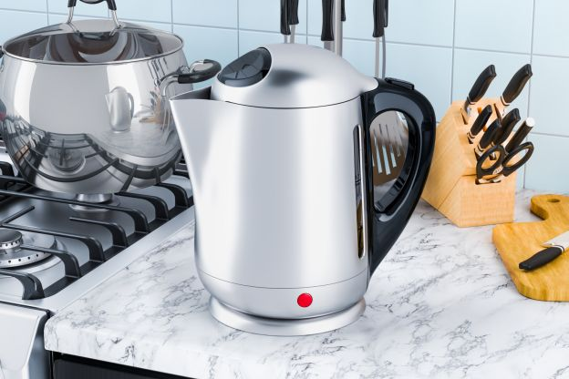 1) Use an Electric Kettle to Make Water Boil Faster