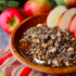 Caramel Toffee Cheesecake Apple Dip
